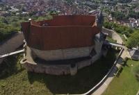 Multicopter über Schloss Spangenberg_11