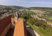Multicopter über Schloss Spangenberg_14