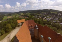 Multicopter über Schloss Spangenberg_15