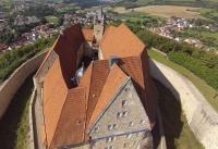 Multicopter über Schloss Spangenberg_1