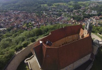 Multicopter über Schloss Spangenberg_2