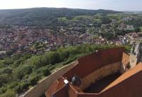 Multicopter über Schloss Spangenberg_4