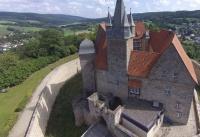 Multicopter über Schloss Spangenberg_6