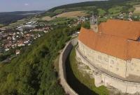Multicopter über Schloss Spangenberg_7