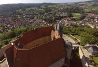 Multicopter über Schloss Spangenberg_8