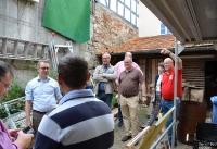 Mark Weinmeister auf Wahlkreisbereisung in Spangenberg in 2019_9