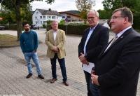 Übergabe Bewilligungsbescheid für Drehleiter durch Staatssekretär Mark Weinmeister_25