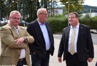 Übergabe Bewilligungsbescheid für Drehleiter durch Staatssekretär Mark Weinmeister_27
