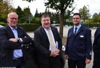 Übergabe Bewilligungsbescheid für Drehleiter durch Staatssekretär Mark Weinmeister_4